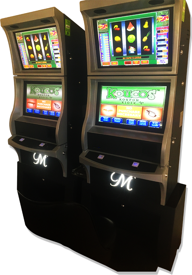 Koucos sweepstakes machines